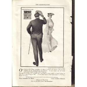 Hart Schaffner & Marx Mens Clothes Ad 1903: Everything